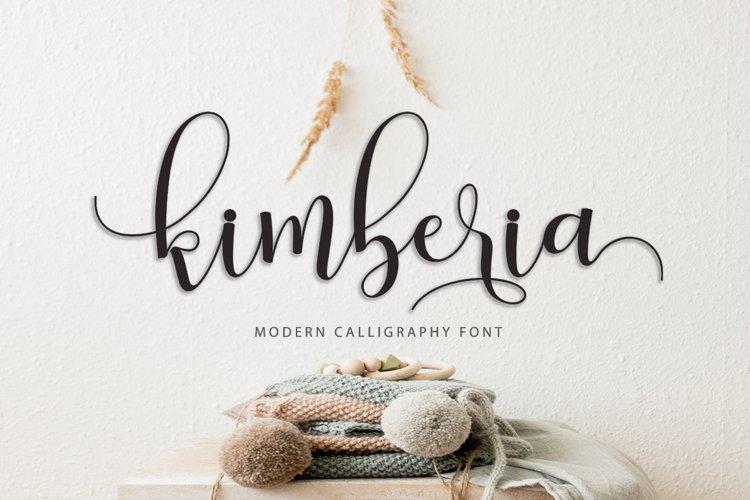 Kimberia Script example image 1