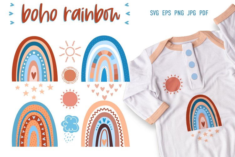 Baby Rainbow | SVG Cut Files