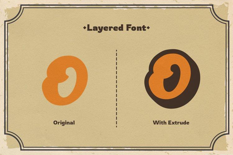 Andala - Retro Script Font example 2