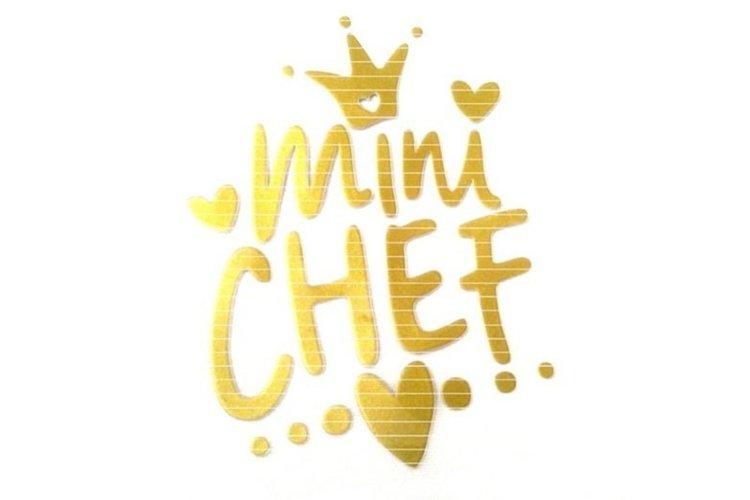 Mini Chef SVG DXF EPS PDF PNG JPG example image 1