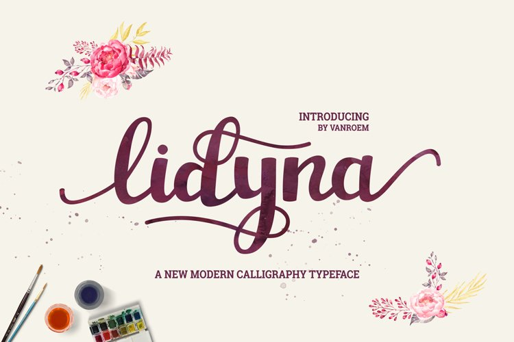 Lidyna Script example image 1