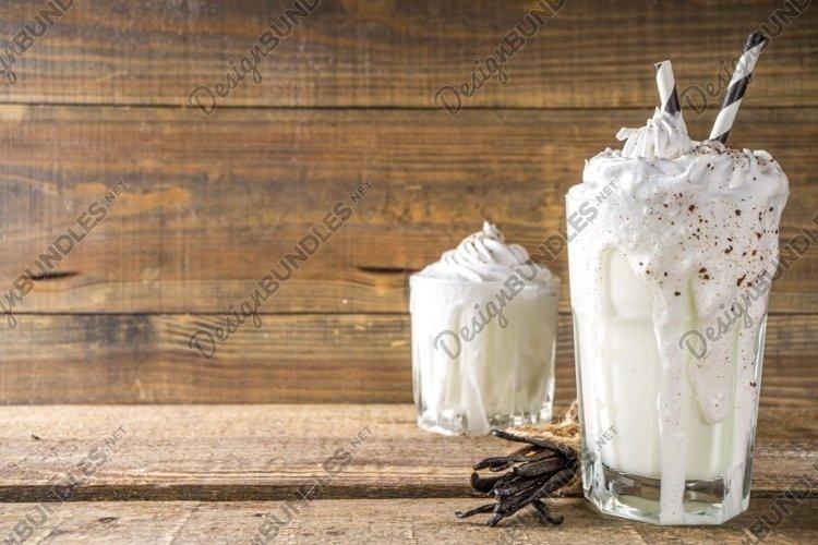 Vanilla bean milkshake example image 1