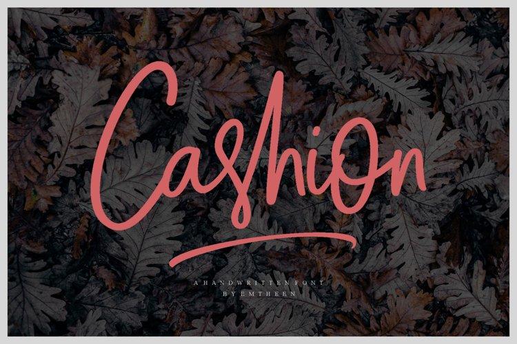 Cashion Script example image 1