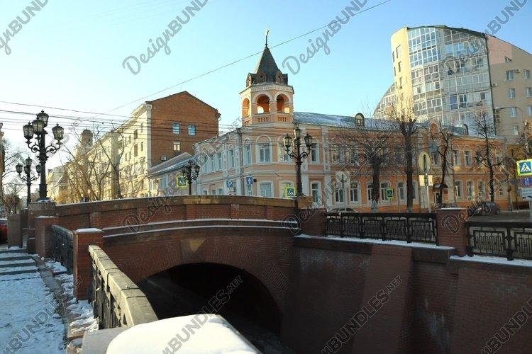 View of the old stone bridge