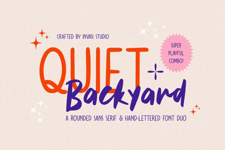 Quiet Backyard Font Duo
