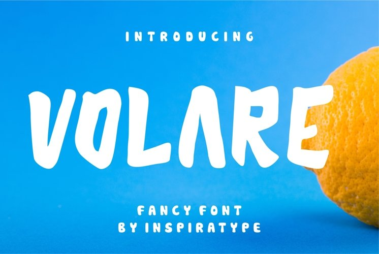 Volare - Fancy Font example image 1