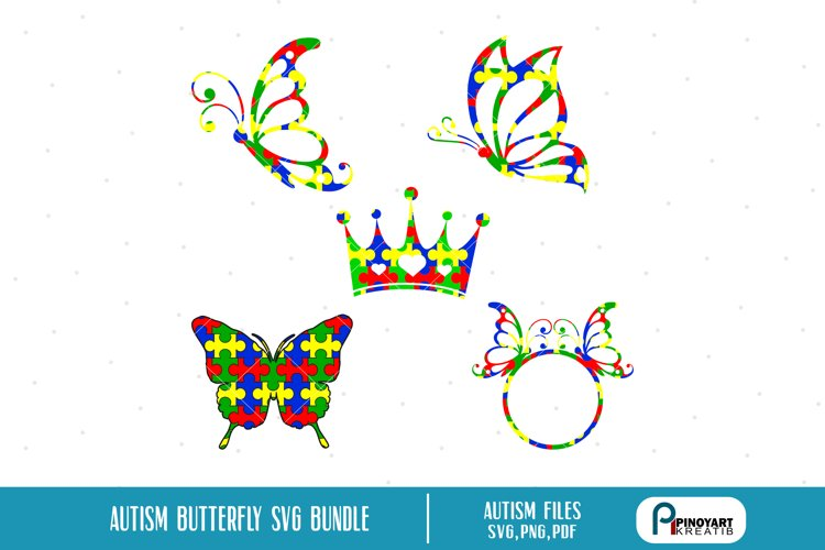 butterfly svg,butterfly svg file,autism svg,autism svg file example image 1