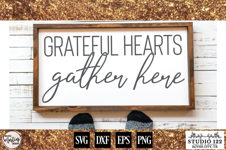 Grateful Hearts Gather Here example image 1