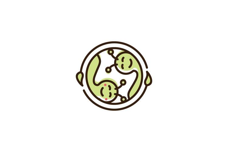 Couple Caterpillar Logo example image 1