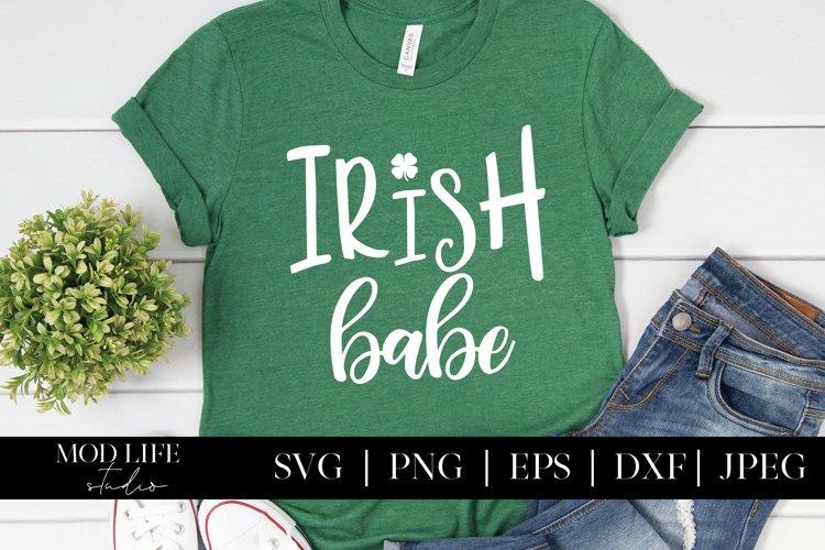 Irish Babe SVG Cut File - SVG PNG JPEG DXF EPS