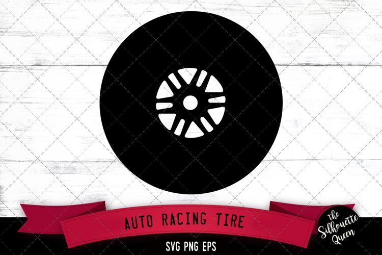 Auto Racing Tire Svg Cut File