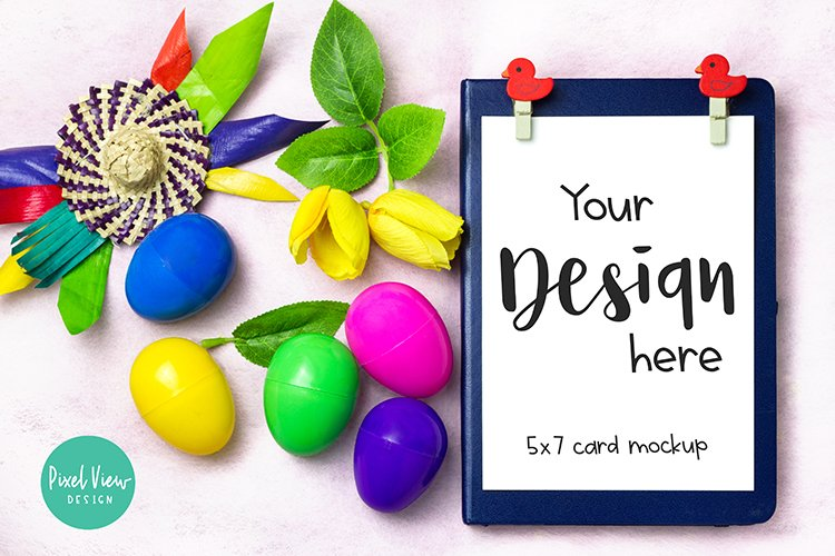 5 x 7 Card Invites| Easter example image 1