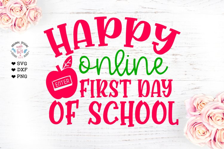 Happy Online First Day of School example image 1