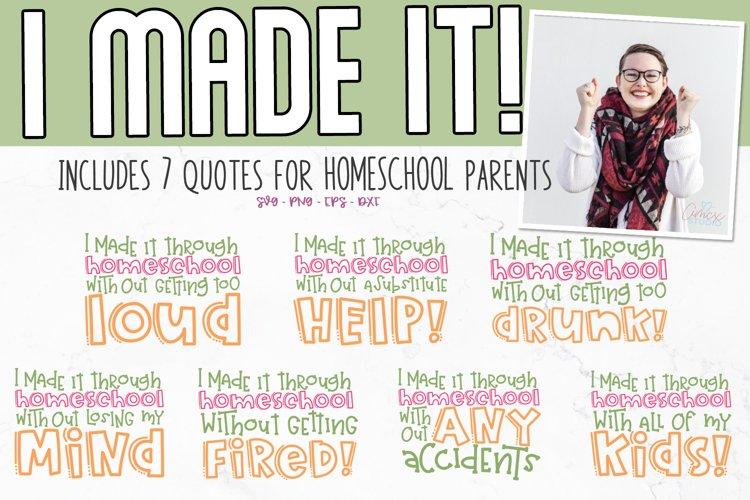Homeschool SVG| Funny Homeschool Craft File