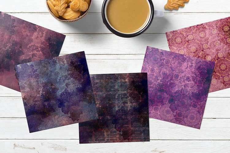 Distressed Digital Paper for Scrapbooking example 3