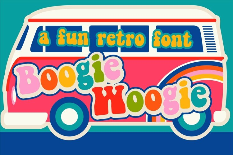 PN Boogie Woogie - Free Font Of The Week Font