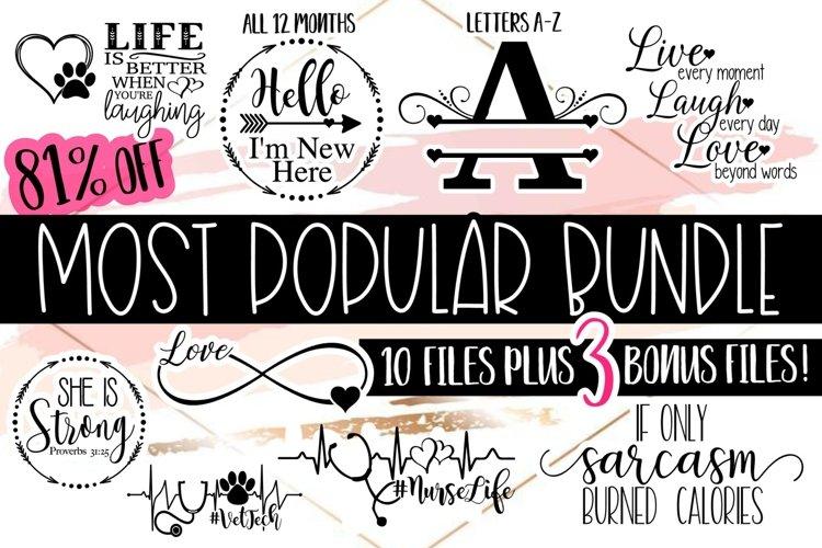 Most Popular Bundle| Bundle SVG | SVG Files