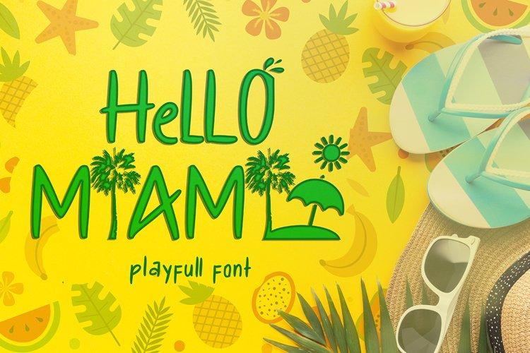 Hello Miami example image 1