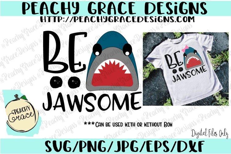 Be Jawsome SVG