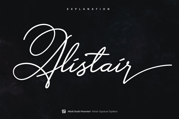 Alistair Font example image 1
