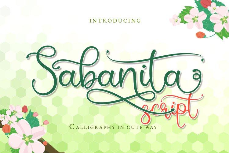 Sabanita example image 1