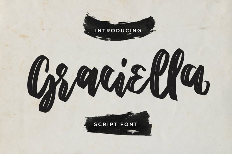 Web Font Graciella - Script Font example image 1