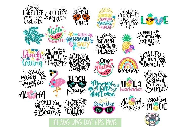 Summer Bundle, The Beach is Calling, Beach Vibes svg, Aloha
