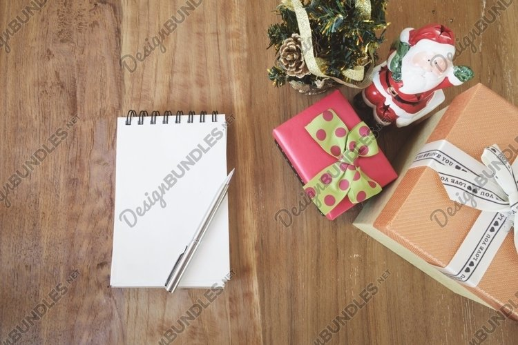 Winter Christmas and Happy New Year or Happy Birthday. example image 1