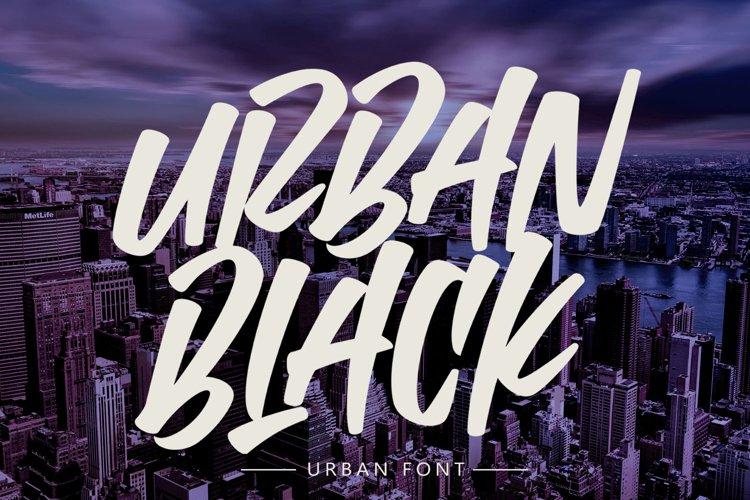 Urban Black example image 1