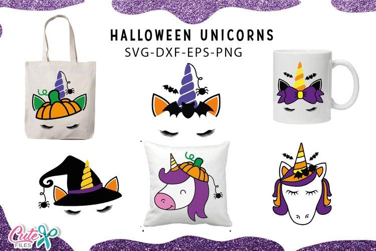Unicorn face bundle| Halloween svg cut files