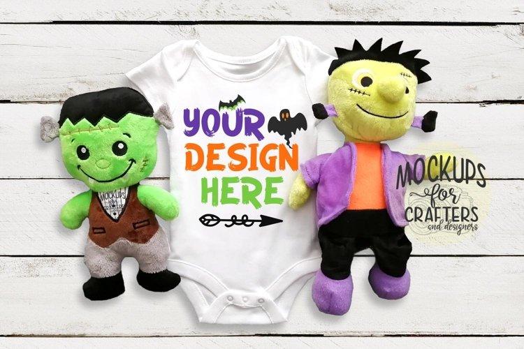Halloween Baby Bodysuit - Mock-Up