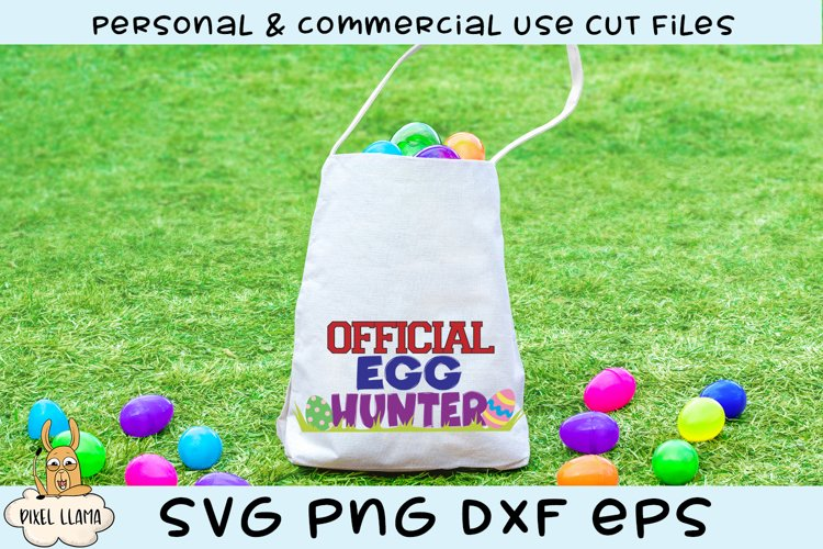 Official Egg Hunter Easter SVG example image 1