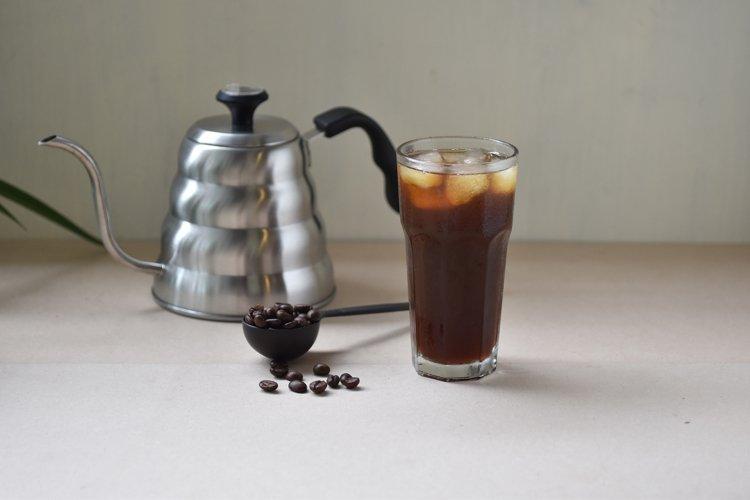 Tasty ice coffee