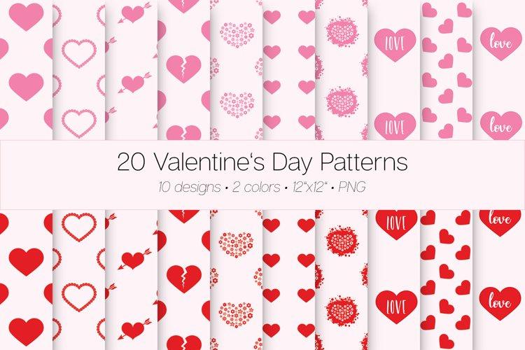20 Valentines Day Patterns