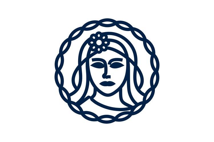 beauty woman logo example image 1