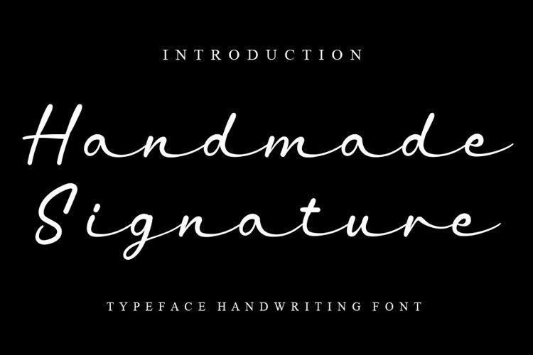 Handmade Signature example image 1