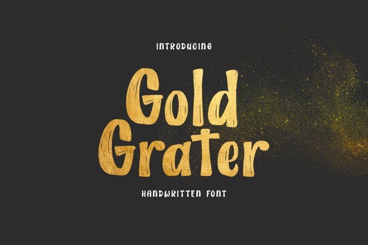 Gold Grater example image 1