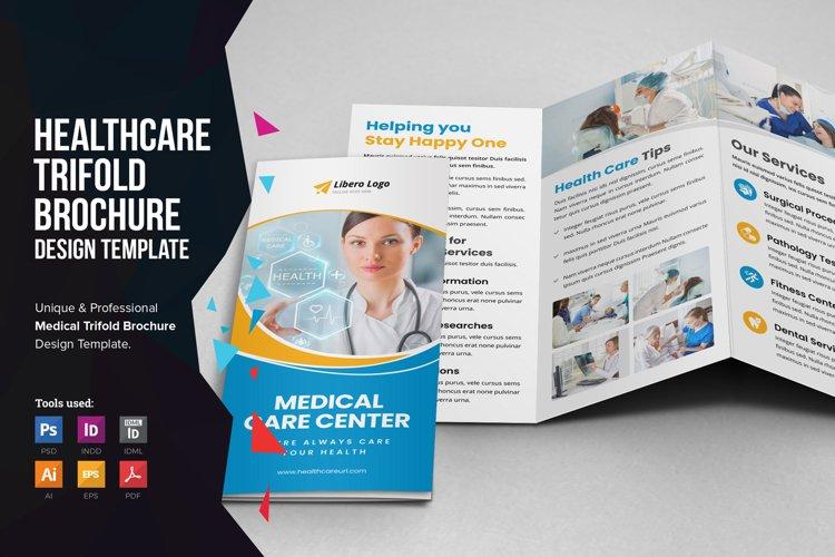Medical Healthcare Trifold Brochure v3