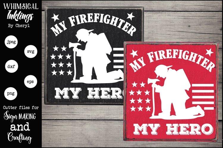 My Firefighter SVG