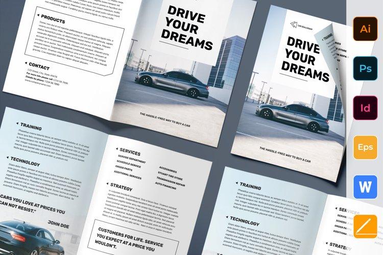 Car Dealership Brochure Bifold example image 1