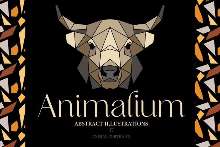Abstract Animals Illustrations