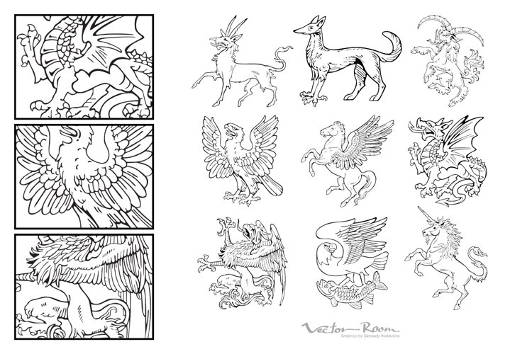 Heraldic Monsters Vol. IV example image 1