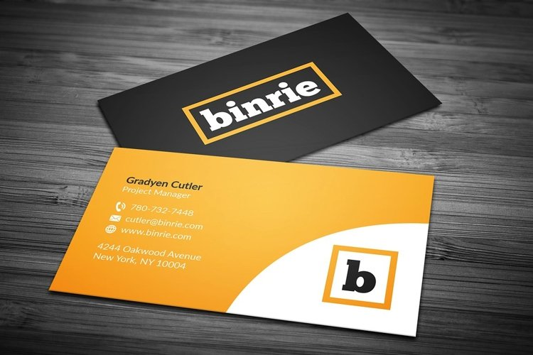 Corporate Business Card 3 example image 1