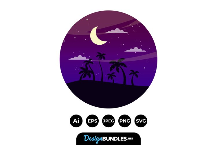 Evening Clipart example image 1