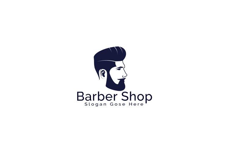 Barber Shop Logo Design. example image 1