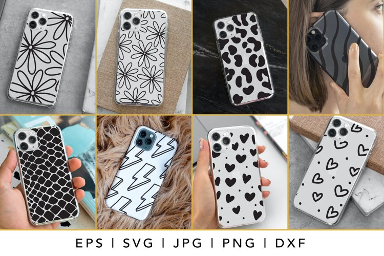 iPhone Case SVG Design Bundle, iPhone 12 Pro Template SVG example