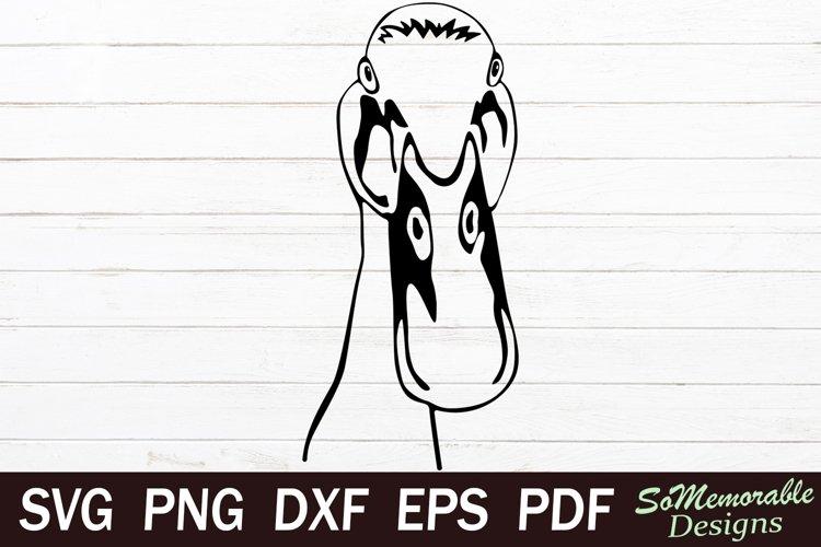 Duck SVG cut file, Duck svg design