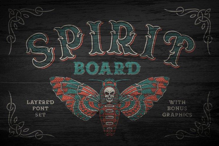 Spirit Board font set example image 1