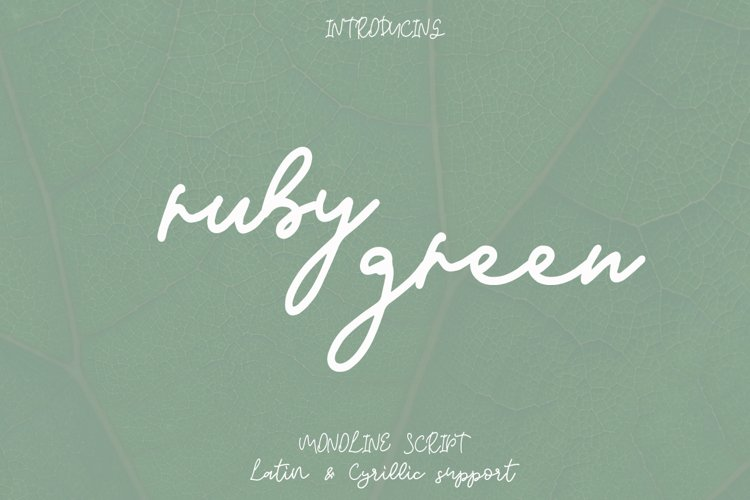 Ruby Green example image 1