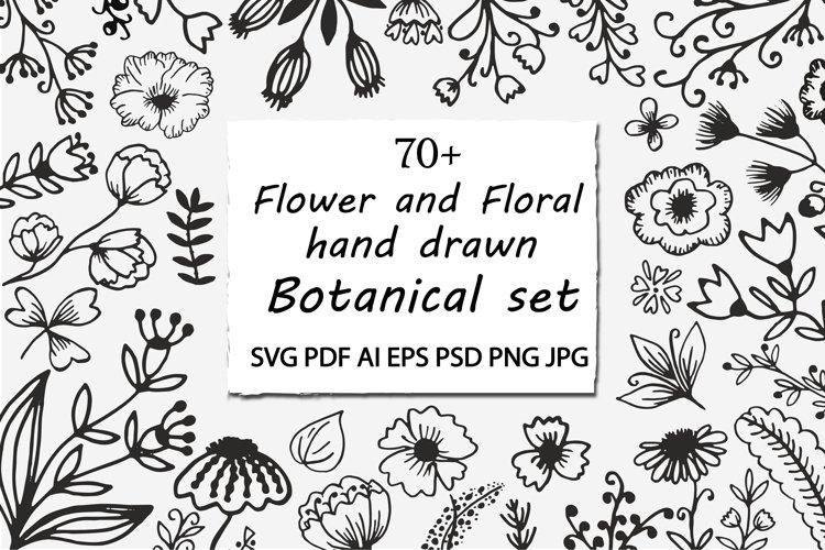 Flower SVG. Flower Border Field Cut file. Flowers SVG.